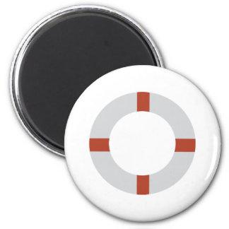 lifesaver icon 2 inch round magnet