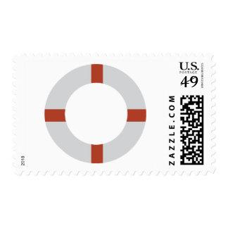 lifesaver icon stamp