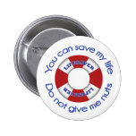 Lifesaver -Nut allergy button