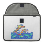 Lifesaver Rainbow Dolphins Sleeves For MacBook Pro