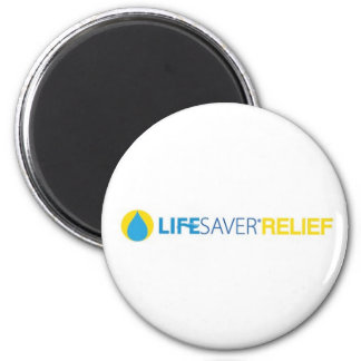 Lifesaver Relief Logo 2 Inch Round Magnet