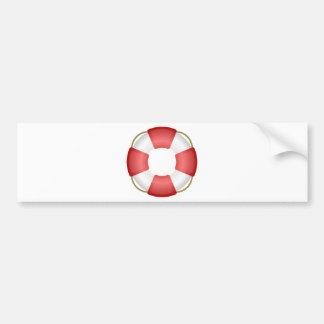 Lifesaver Ring Bumper Sticker