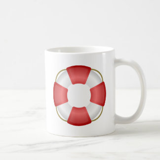 Lifesaver Ring Coffee Mug