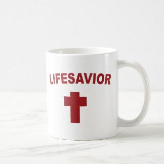 LIFESAVIOR Red Cross Christian Inspired Mug Cup