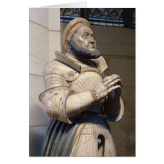 Lifesize Alabaster Statue of the Elector Greeting Card