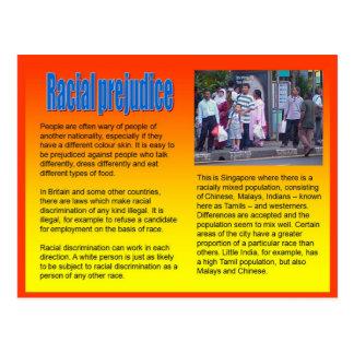 Lifeskills, Citizenship, Racial Prejudice Postcard