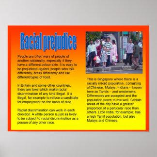 Lifeskills, Citizenship, Racial Prejudice Poster