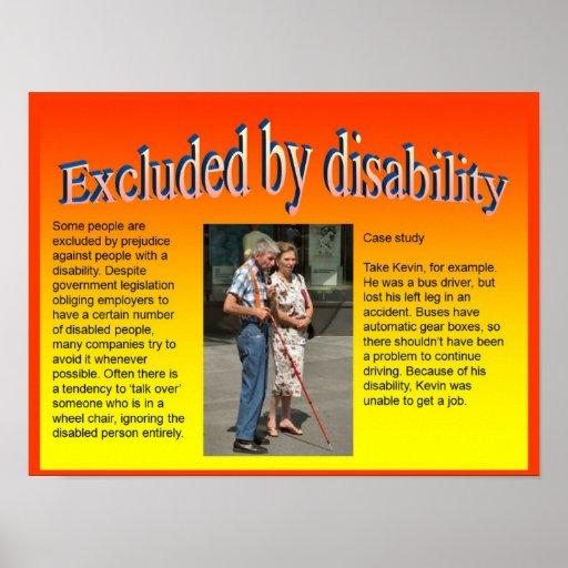 Lifeskills, ciudadanía, excluida por incapacidad poster