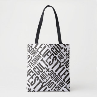 LIFESTYLE FASHION CULT - black Tote Bag