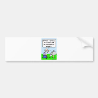 lifetime achievement award bumper sticker