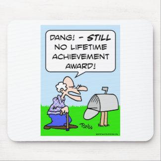 lifetime achievement award mouse pad