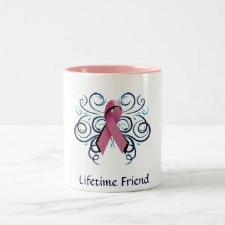 Lifetime Friend Mug/add a name Two-Tone Coffee Mug