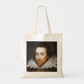 Lifetime Portrait of Shakespeare Budget Tote Bag