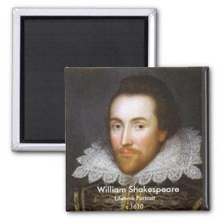 Lifetime Portrait of Shakespeare Magnet