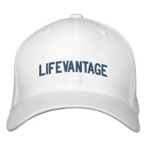 lifevantage embroidered baseball cap