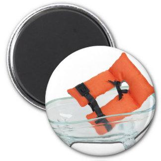 LifeVestInBathtub082612.png 2 Inch Round Magnet