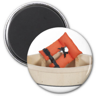 LifeVestWoodenBoat082612.png 2 Inch Round Magnet