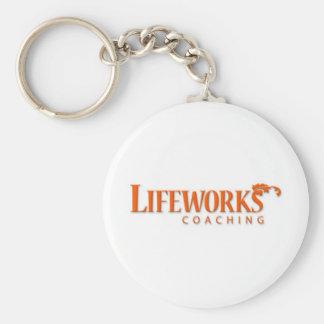 Lifeworks Coaching Shameless Self-Promotion Basic Round Button Keychain