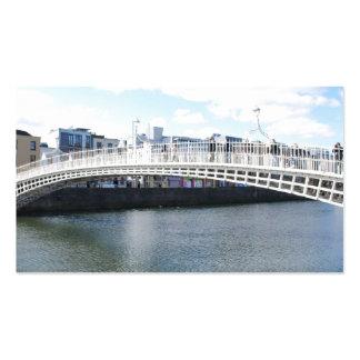 Liffey Bridge - Ha'penny Bridge Business Card Template