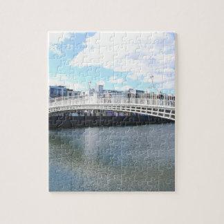 Liffey Bridge - Ha'penny Bridge Jigsaw Puzzle