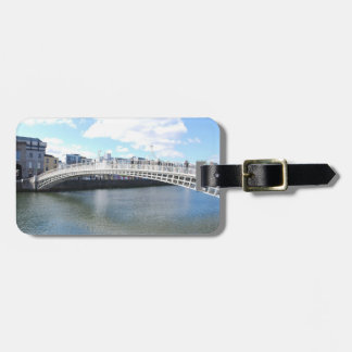 Liffey Bridge - Ha'penny Bridge Luggage Tag