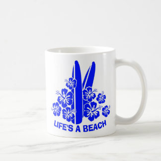 lifs una playa taza