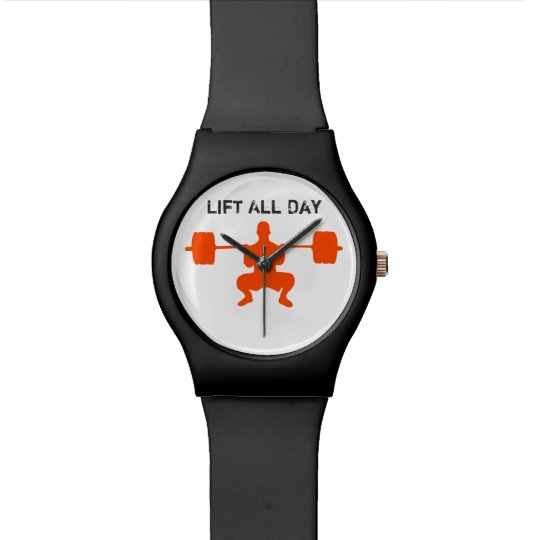Lift All Day - or Weight Lifting Wristwatch