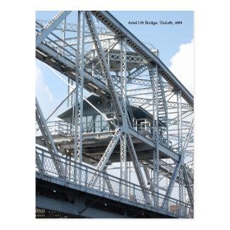 Lift Bridge2, Ariel Lift Bridge  Duluth, MN Postcard