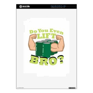 Lift Bro? iPad 2 Decal