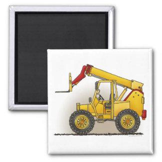 Lift Construction Square Magnet