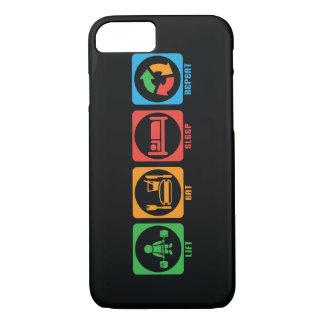Lift, Eat, Sleep, Repeat iPhone 8/7 Case