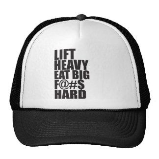 Lift Heavy, Eat Big Trucker Hat