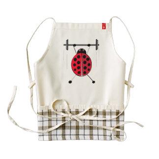 Lift Ladybug Lift Exercise Bug Zazzle HEART Apron