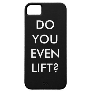 Lift? Motivation to gym iPhone 5 Case