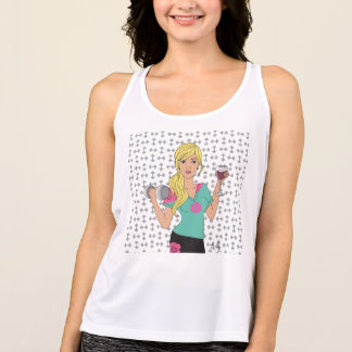Lift Now Wine Later Tank Top