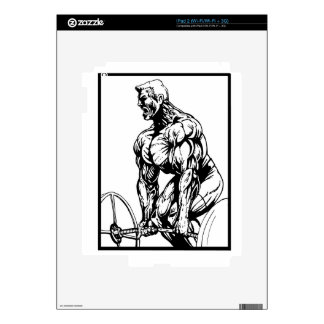 LIFT TIL' YOU PUKE BODYBUILDING LOGO DECALS FOR THE iPad 2