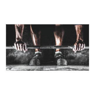 Lift Weights Canvas Print