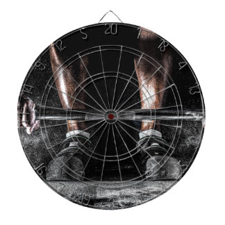 Lift Weights Dartboard With Darts