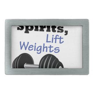 Lift Your Spirits Belt Buckle