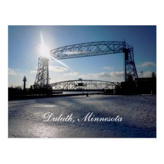 Liftbridge, Duluth, Minnesota Postcard