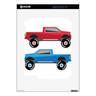 Lifted Pickup Truck Skins For iPad 2