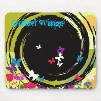 Lifted Wings Mouse Pad