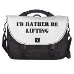 Lifting Apparel Commuter Bag