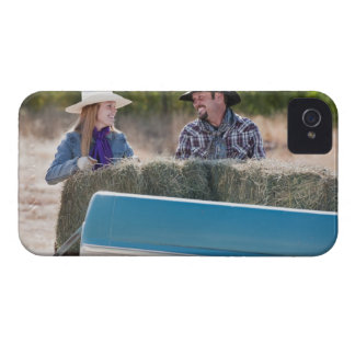 Lifting bales of hay iPhone 4 covers