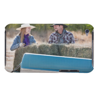 Lifting bales of hay Case-Mate iPod touch case