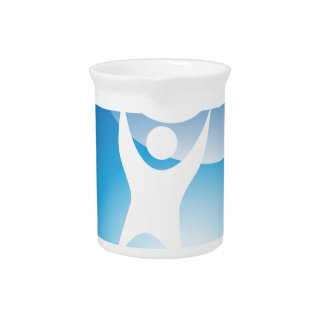 Lifting Exercise Ball Man Icon Pitchers