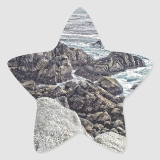 Lifting Fog Star Sticker