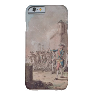 Lifting of the Siege of Pondicherry, 1748, engrave Barely There iPhone 6 Case