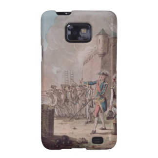 Lifting of the Siege of Pondicherry, 1748, engrave Galaxy SII Case