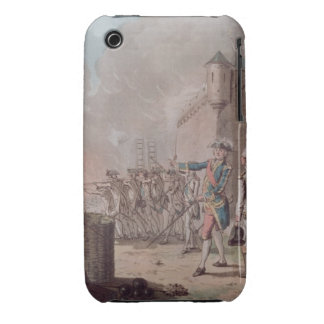 Lifting of the Siege of Pondicherry, 1748, engrave iPhone 3 Case